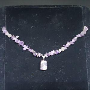 Jewelry - Purple Amethyst Necklace